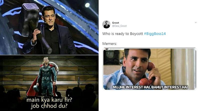 BiggBoss 14 Funny Memes and Jokes: From Salman Khan's 'Thor' Hammer to Siddharth Shukla's Reappearance, Hilarious Posts You Don't Wanna Miss!