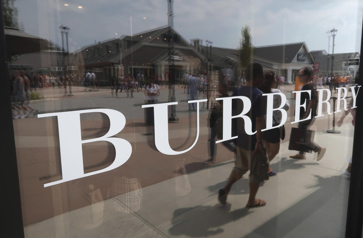 Burberry has promised to stop burning unsold stock [Photo: Getty]