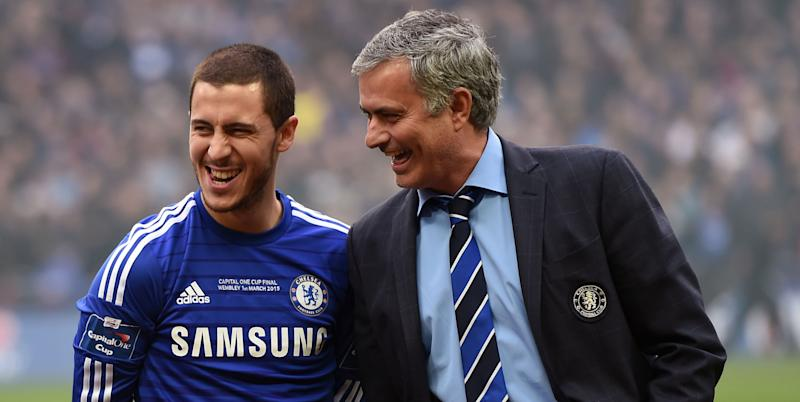Eden Hazard 'happy' to see out career with Chelsea
