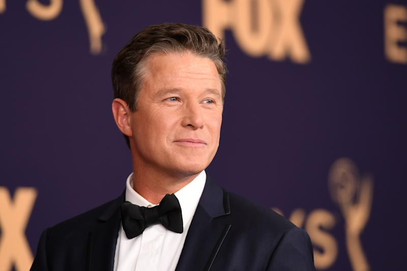 US television host Billy Bush arrives for the 71st Emmy Awards at the Microsoft Theatre in Los Angeles on September 22, 2019. (Photo by Robyn Beck / AFP) (Photo credit should read ROBYN BECK/AFP/Getty Images)