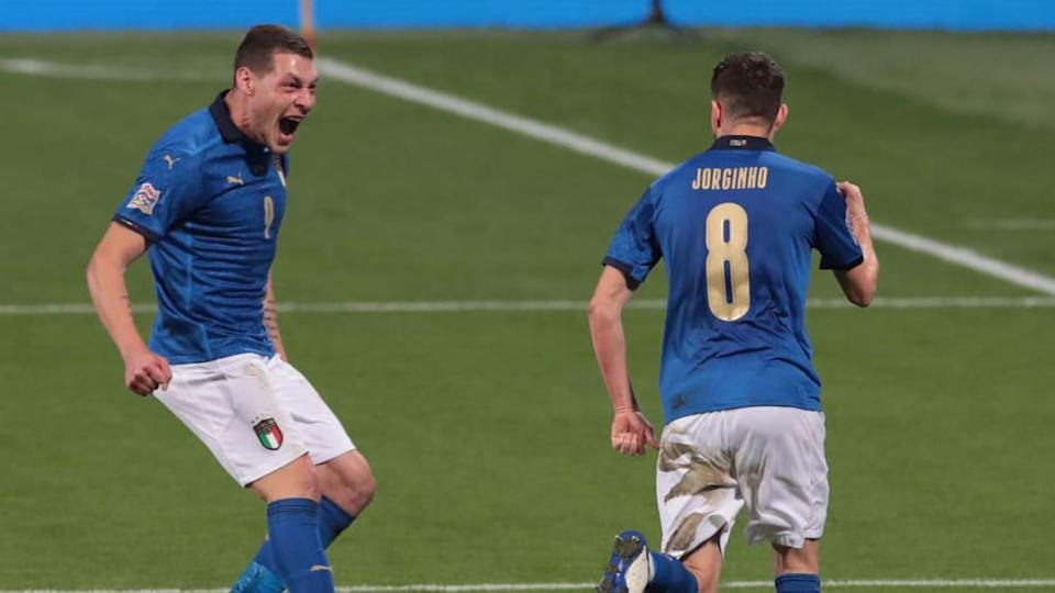 Andrea Belotti e Jorginho | Emilio Andreoli/Getty Images