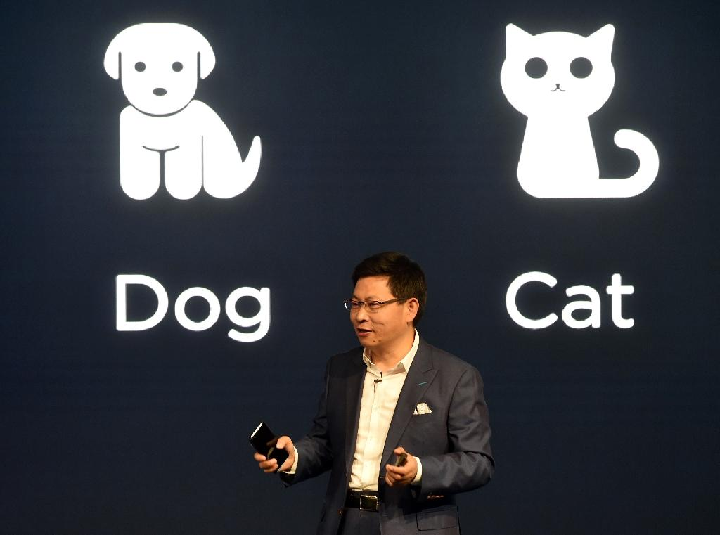 It's dog eat dog in the smartphone business and you need a big cheque book to compete (AFP Photo/Christof STACHE)