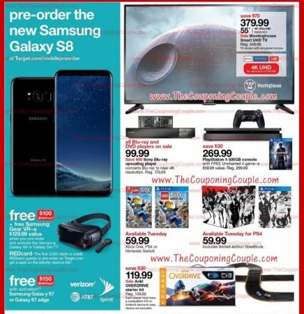 Samsung, Galaxy S8, Target, Galaxy S8 Plus, pre-order date, gift vouchers