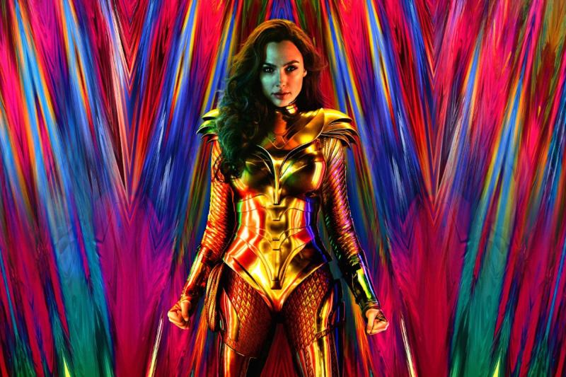 First 'Wonder Woman 1984' Poster Has Gal Gadot Channeling Lady Gaga