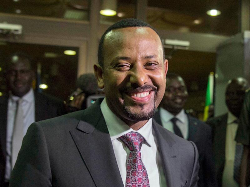 Ethiopia's prime minister Abiy Ahmed has been working to change to his country's political system: AP