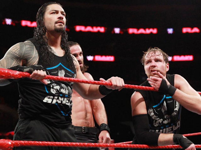 The Shield were left beaten by The Bar and Samoa Joe (Getty)