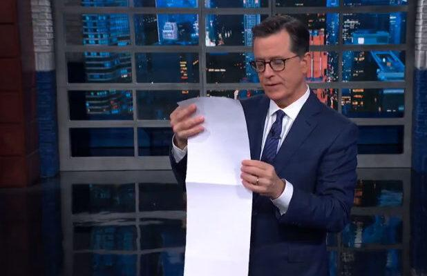 Stephen Colbert Is Pretty Sure Rudy Giuliani Is Next to Be Thrown Under the Bus by Trump (Video)
