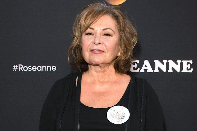 Roseanne Barr has agreed to do an interview with...herself