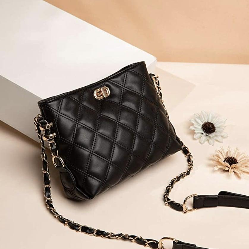 <p>The quilted look of this <span>Sivim Crossbody Bag</span> ($19) adds a touch of elegance, making it an affordable must-have.</p>