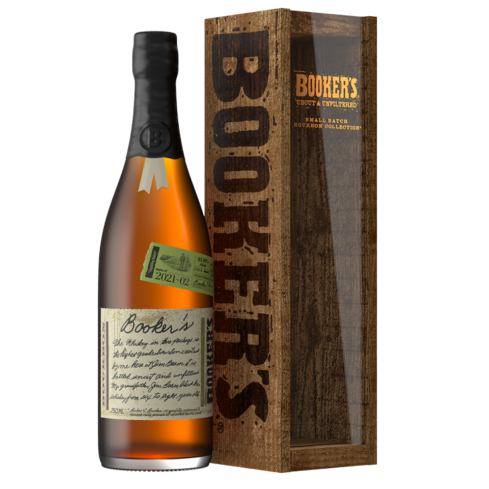Booker's bottle and box