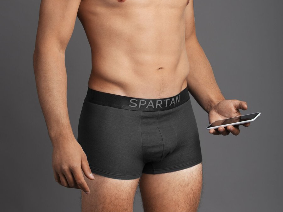 <p>These boxer shorts promise to insulate the wearer's groin area from 99% of Wi-Fi and mobile phone radiation, which some believe can impact fertility. They work using fabric with strands of silver woven through it, a technology derived from space suits. </p>