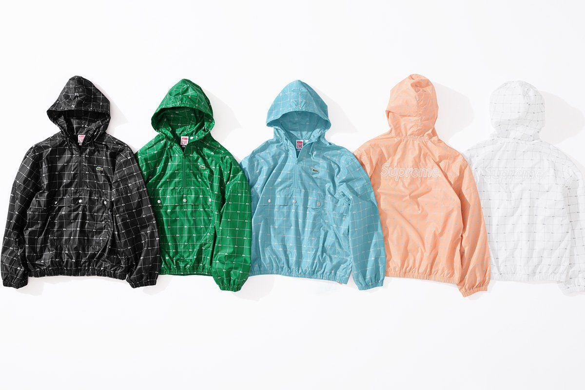 """<p><strong>Nylon Anorak With 3M Reflective Pattern</strong></p><p><a rel=""""nofollow"""" href=""""http://www.supremenewyork.com/shop"""">SHOP SUPREME</a></p>"""