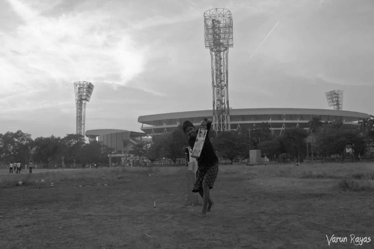 At the Eden Gardens. By varunrayas1