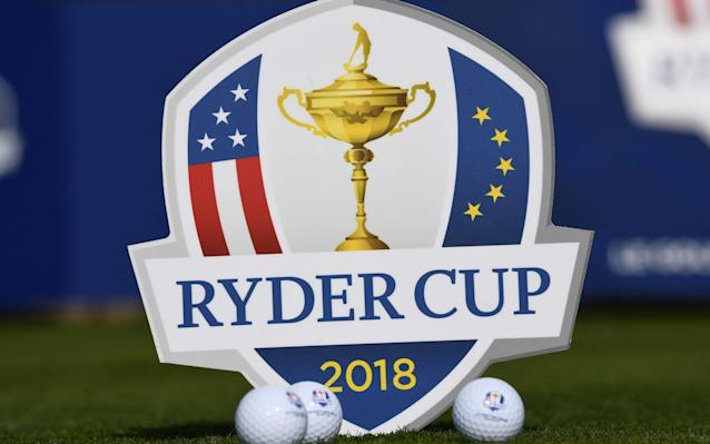 The 42nd Ryder Cup will take place atthe Golf National in Guyancourt, near Paris - AFP