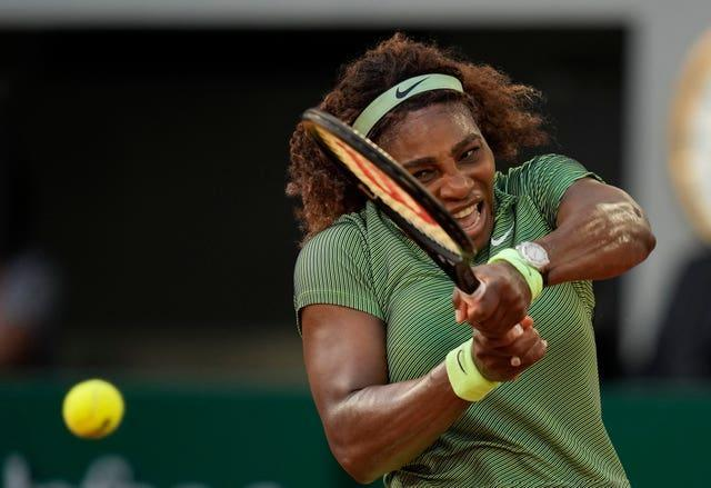 Serena Williams will hope to power her way into the fourth round