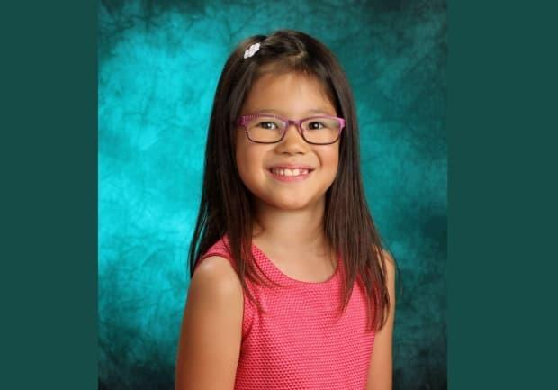 Adelyn Sophie Newman-Ting from Victoria, B.C., is the winner of an international competition organized by UNESCO, which looked for stories about language preservation written by Indigenous children. (Voices of Future Generations - image credit)