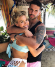"""<p>They may <a href=""""https://www.popsugar.com/entertainment/What-Did-Chris-Randone-Do-Bachelorette-45135370"""" rel=""""nofollow noopener"""" target=""""_blank"""" data-ylk=""""slk:not have been well-liked"""" class=""""link rapid-noclick-resp"""">not have been well-liked</a> during their stints on <em>The Bachelo</em>r and <em>The</em> <em>Bachelorette</em>, but fans fell in love with Krystal and Chris's love story on season 5 of <em>BiP. </em>The former villains left the show engaged and married in June 2019. </p>"""