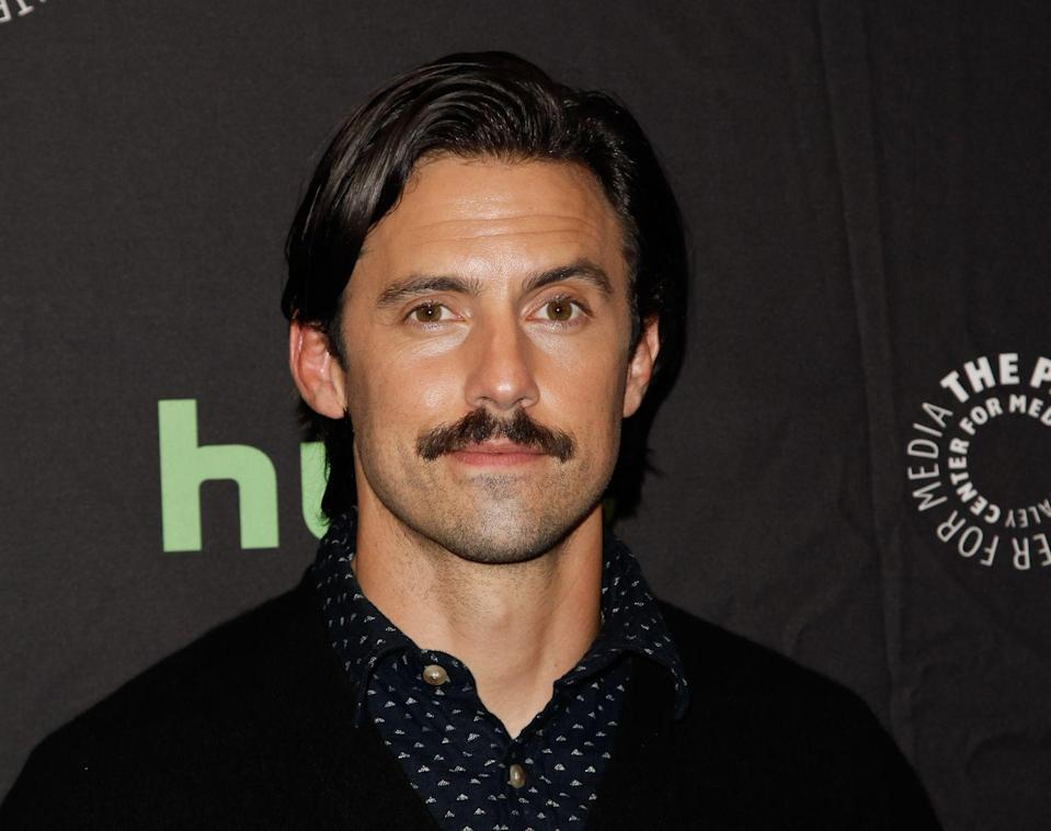 <p>Ventimiglia grew out a mustache for his role as Jack Pearson on the hit series, <em>This Is Us</em>. Love it or hate it, this facial hair is pure '80s.</p>
