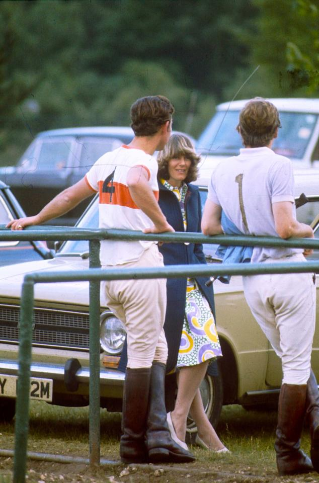 "<p>Prince Charles met a 23-year-old Camilla Shand at a polo match at Windsor Great Park in 1970. ""He loved the fact that she smiled with her eyes as well as her mouth, and laughed at the same silly things as he did,"" royal biographer Penny Junor <a href=""https://people.com/royals/charles-diana-and-camilla-a-timeline-of-their-royal-love-triangle/"" target=""_blank"">recalled</a> in <em>The Duchess: The Untold Story</em>. ""In short, he was very taken with her, and after that first meeting he began ringing her up.""</p>"