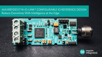 Maxim Integrated's IO-Link® communications technology reduces factory downtime.