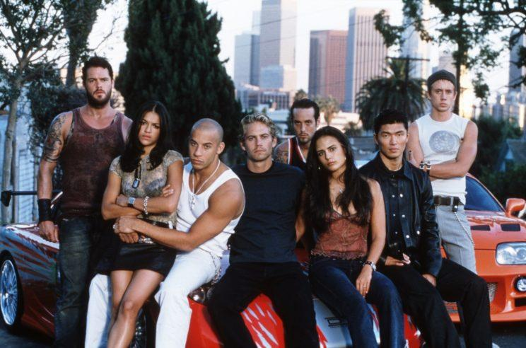Another collection of Fast and Furious family members