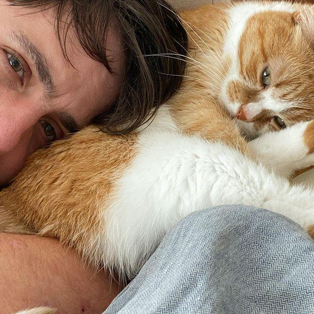 """<p>There's not a ton of info about what Alex has been up to. Based on his Instagram, he's definitely spent time snuggling with his cats and re-connected with Joey and Shooby at least once.</p><p><a href=""""https://www.instagram.com/p/CI1HOQ7F-6x/"""" rel=""""nofollow noopener"""" target=""""_blank"""" data-ylk=""""slk:See the original post on Instagram"""" class=""""link rapid-noclick-resp"""">See the original post on Instagram</a></p>"""