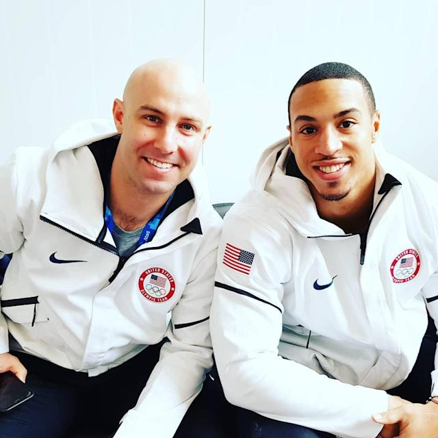 <p>has_fitness: Last night did not go as we planned in the race. i was definately frustrated but god always has a plan and my time here is not over. @bobsledr and I will come back at it again today and give it our all and then it is on to the four man. My head is still held high and very proud to be here at the #olympics representing my country and the places i call home. #Powhatan #Wise #knoxville #Jersey #Iloveyall (Photo via Instagram/has_fitness) </p>