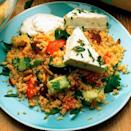 """<p>Prepare this fresh tasting couscous salad - perfect for a mid-week meal or picnic!</p><p><strong>Recipe: <a href=""""https://www.goodhousekeeping.com/uk/food/recipes/a536107/feta-and-mint-couscous-salad/"""" rel=""""nofollow noopener"""" target=""""_blank"""" data-ylk=""""slk:Feta and Mint Couscous Salad"""" class=""""link rapid-noclick-resp"""">Feta and Mint Couscous Salad</a></strong></p>"""