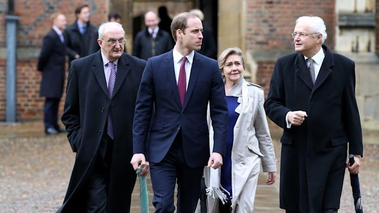 Prince William Arrives At St John's College For His First Day