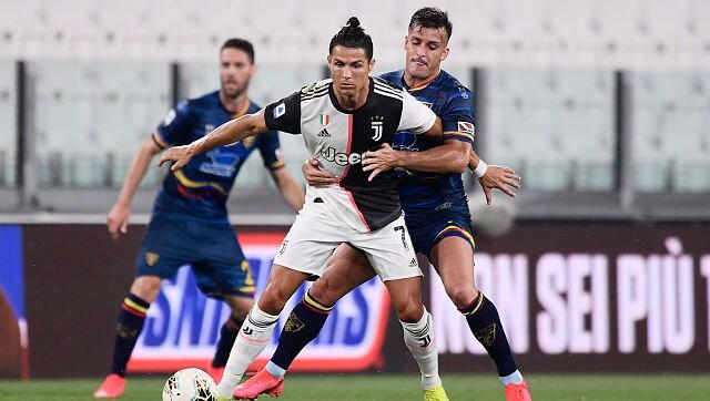 Serie A: Cristiano Ronaldo back in form as leaders Juventus thrash 10-man Lecce 4-0