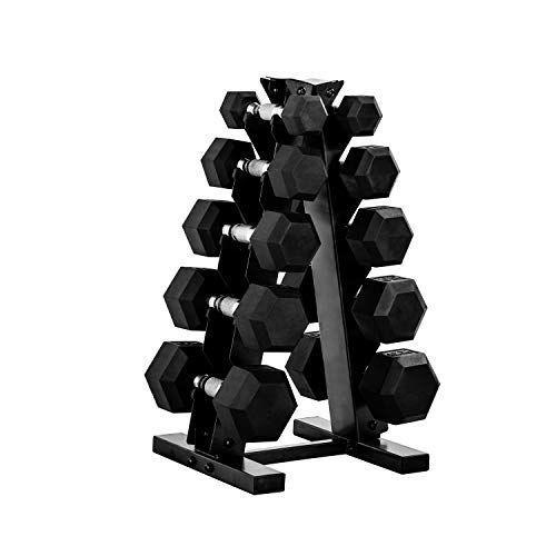"""<p><strong>CAP Barbell</strong></p><p>amazon.com</p><p><strong>$429.99</strong></p><p><a href=""""https://www.amazon.com/dp/B085WT9TJL?tag=syn-yahoo-20&ascsubtag=%5Bartid%7C2141.g.34371548%5Bsrc%7Cyahoo-us"""" rel=""""nofollow noopener"""" target=""""_blank"""" data-ylk=""""slk:Shop Now"""" class=""""link rapid-noclick-resp"""">Shop Now</a></p><p>If you're investing in a home gym, you probably won't do better than CAP Barbell's 150-pound dumbbell set, which <strong>takes up little space</strong> and looks completely professional. It's worth the splurge.</p>"""