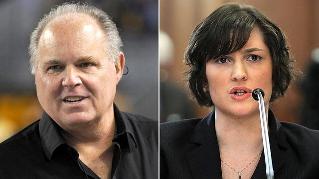 Rush Limbaugh Apologizes for Calling Sandra Fluke a 'Slut'