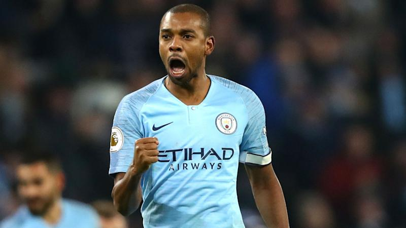 Fernandinho City Liverpool premier League 03 01 2019