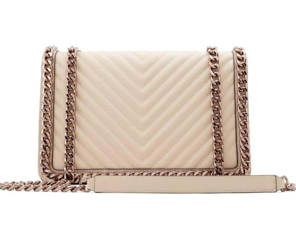 <p>This <span>Aldo Greenwald Crossbody Bag</span> ($60) looks so luxe. It will add a lot of polish to any look.</p>