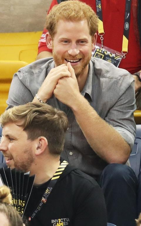 Prince Harry attends the Sitting Volleyball Finals - Credit: Chris Jackson/Getty