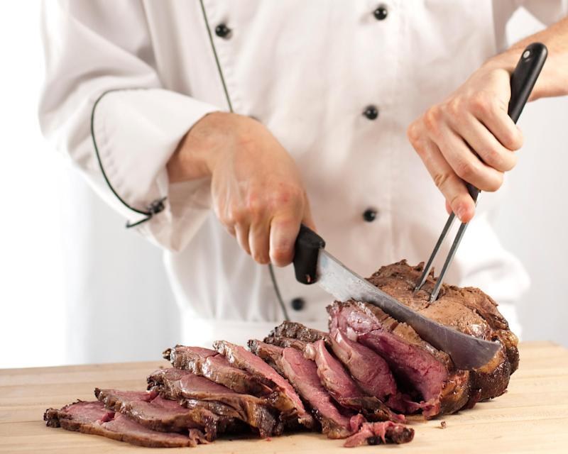Meat is denser in calories and therefore it takes longer to burn off the energy it produces: Getty/istock