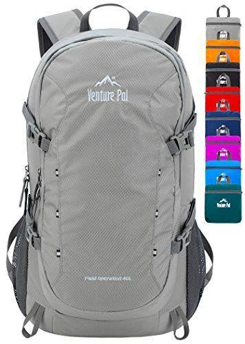 """<p><strong>Venture Pal</strong></p><p>amazon.com</p><p><strong>$22.99</strong></p><p><a href=""""https://www.amazon.com/dp/B07Q1BYL45?tag=syn-yahoo-20&ascsubtag=%5Bartid%7C10055.g.27508273%5Bsrc%7Cyahoo-us"""" rel=""""nofollow noopener"""" target=""""_blank"""" data-ylk=""""slk:Shop Now"""" class=""""link rapid-noclick-resp"""">Shop Now</a></p><p>At just $23, this top rated backpack can actually be packed into its own pocket. The 40L interior can hold everything you'll need for a day of classes with separate internal pockets and side water bottle holders. Available in 12 shades, thousands of rave Amazon reviews agree that the nylon fabric is impressively durable and many appreciate the padded straps too. One reviewer even says this backpack is """"durable, lightweight, highly visible and gorgeous."""" </p>"""