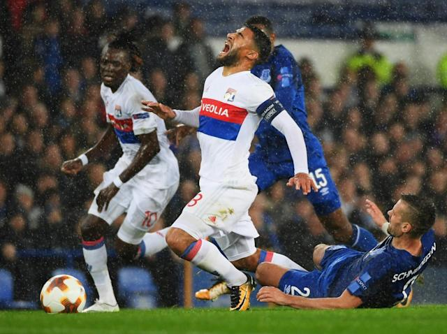 Everton lose the match and their composure against Lyon as pressure on Ronald Koeman grows
