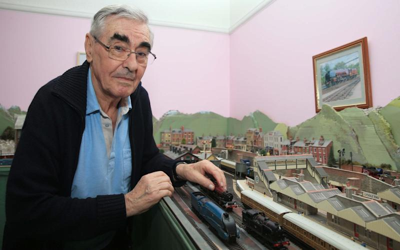 John Headington tackled Robert Barnes when the intruder tried to steal his model railway collection - ©Stephen Daniels