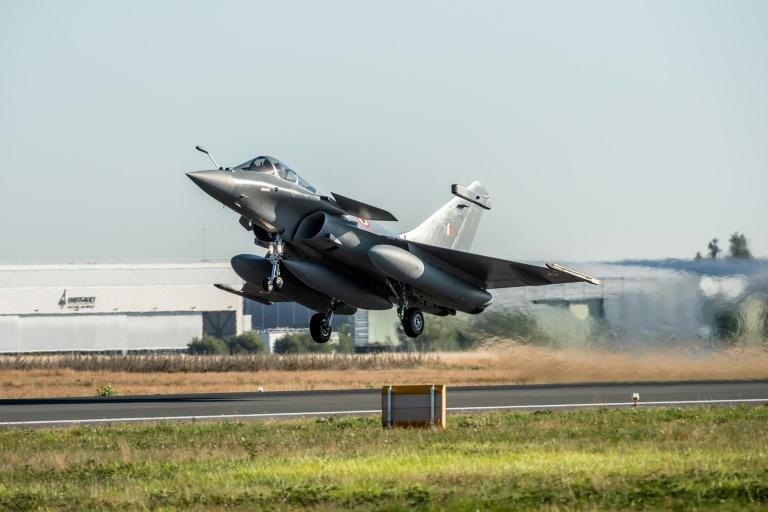 India has bought 36 Rafale fighters from France in a deal estimated to be worth $9.4 billion (AFP Photo/V. Almansa)