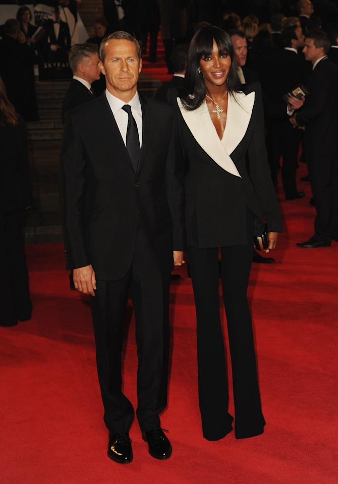 LONDON, ENGLAND - OCTOBER 23: Vladislav Doronin and Naomi Campbell attend the Royal World Premiere of 'Skyfall' at the Royal Albert Hall on October 23, 2012 in London, England.  (Photo by Eamonn McCormack/Getty Images)