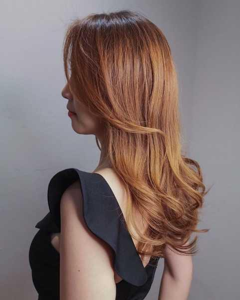 Gold by Hair Illustrated @ Raffles City