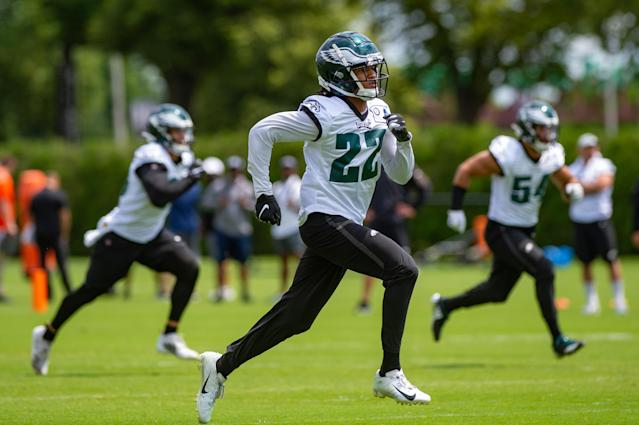 The Eagles finally offered reasons why they're holding just one open practice this year, but the reasons aren't all that convincing. (Photo by John Jones/Icon Sportswire via Getty Images)