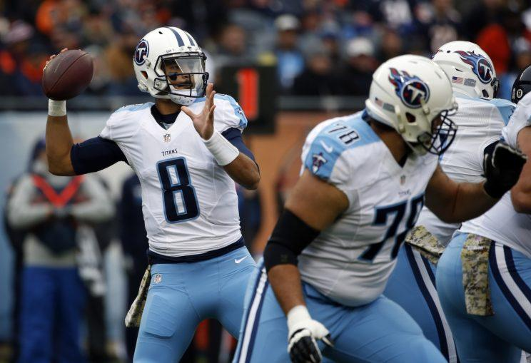 Marcus Mariota looks to improve upon a promising 2016 season. (AP)
