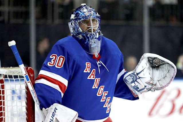 The King of the New York Rangers is expected to have his fantasy valued hindered by his rebuilding team. (Photo by Abbie Parr/Getty Images)