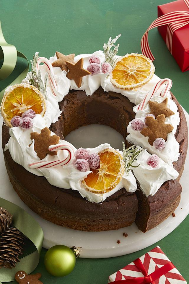 """<p>Deck the halls with frosting and sugar this season. After all, nothing tops off a holiday dinner better than a rich cake. If your sweet tooth is looking for more, try our Christmas <a rel=""""nofollow"""" href=""""https://www.womansday.com/food-recipes/food-drinks/g2021/christmas-desserts/"""">dessert recipes</a>, <a rel=""""nofollow"""" href=""""https://www.womansday.com/food-recipes/food-drinks/g132/christmas-cookies/"""">holiday cookies</a>, and <a rel=""""nofollow"""" href=""""https://www.womansday.com/food-recipes/food-drinks/g2029/make-your-own-candy/"""">homemade candies</a>. You can't go wrong with any of these treats.<br> </p>"""