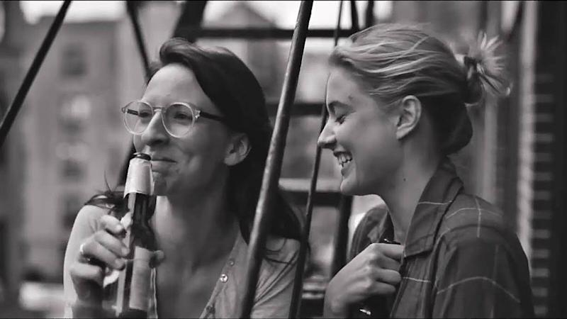 "A scene from ""Frances Ha,"" which is on Netflix until the end of September."