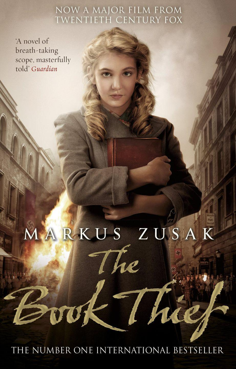 "<p>Liesel's life changes when she picks up a book partially hidden by her brother's grave. It is The Gravedigger's Handbook, left by accident, and it is her first act of book thievery. Soon she is stealing books from Nazi book-burnings, the mayor's wife's library, wherever there are books to be found.<br></p><p><a class=""link rapid-noclick-resp"" href=""https://www.amazon.co.uk/Book-Thief-Markus-Zusak/dp/0552779733/ref=sr_1_1?dchild=1&keywords=the+book+thief&qid=1586961393&sr=8-1&tag=hearstuk-yahoo-21&ascsubtag=%5Bartid%7C1921.g.32141605%5Bsrc%7Cyahoo-uk"" rel=""nofollow noopener"" target=""_blank"" data-ylk=""slk:SHOP NOW"">SHOP NOW</a></p>"