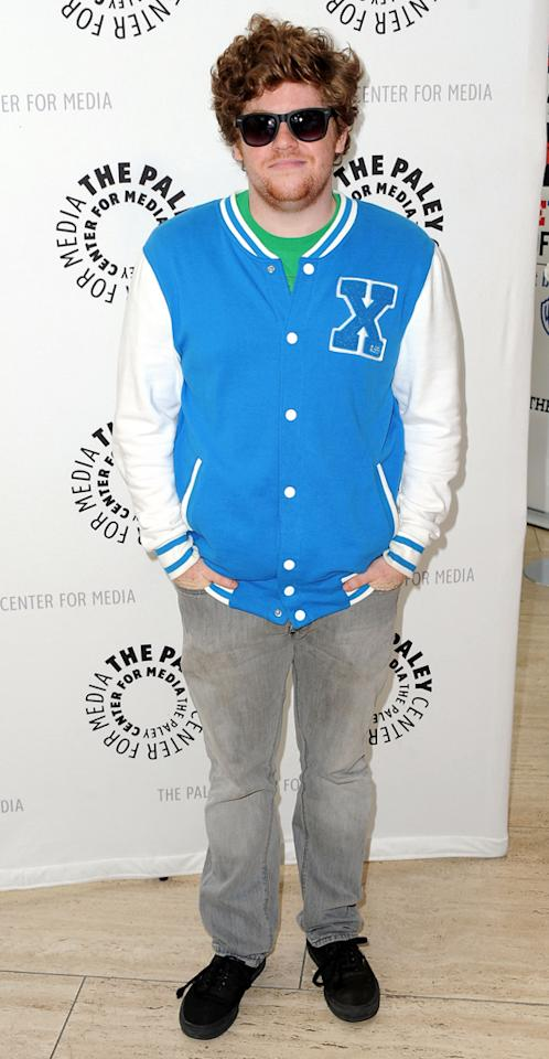 """Zack Pearlman arrives at the Season 2 premiere screening of """"Awkward"""" at The Paley Center for Media on June 21, 2012 in Beverly Hills, California."""
