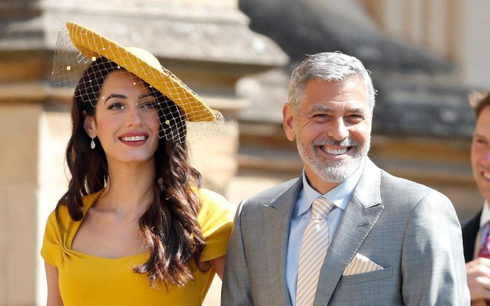The Clooneys are friends of the Sussexes – with George producing and directing the forthcoming movie of Moehringer's memoir - Getty